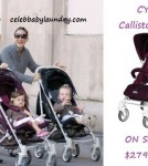 Celeb baby Style: Cybex Stroller - Sarah Jessica Parker - Marion and Tabitha Broderick
