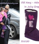 Celeb Baby Style - Lou Samuel - Old Navy Boots - Heidi Klum and Seal