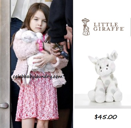 Celeb Baby Style: Suri Cruise - Little Giraffe Little G™ Plush Toy