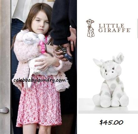 Celeb Baby Style: Suri Cruise - Little Giraffe Little G™ Plush Toy