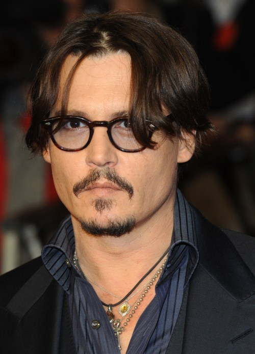 "hnny Depp attends the UK red carpet Premiere of ""The Rum Diary"" at the Odeon, Kensington in London, England on November 3, 2011."