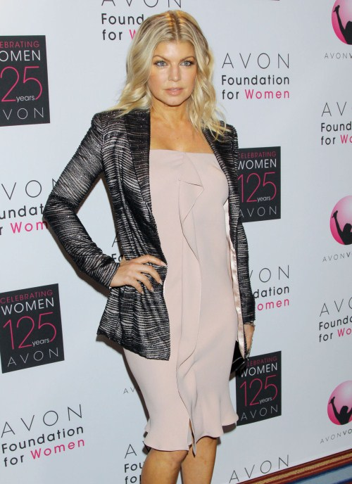 Fergie at the 2011 Avon Foundation Awards gala was held at the Marriot Marquis Times Square in New York City, New York on November 2, 2011.