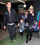 Gwen Stefani With Husband Gavin Rossdale and Children Kingston and Zuma