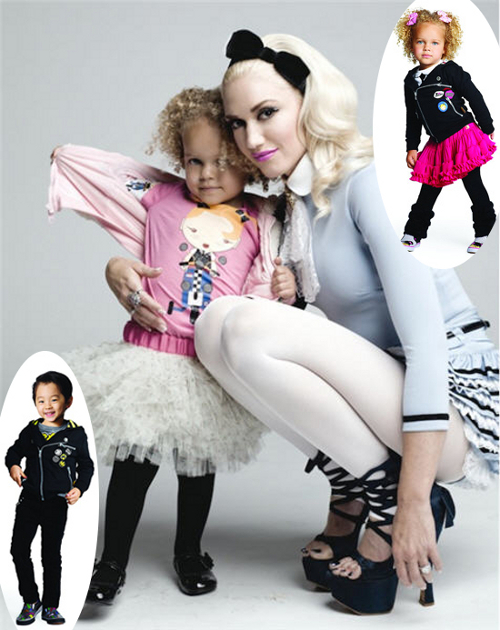 Gwen Stefani's 'Harajuku Mini' Fashion Line At Target