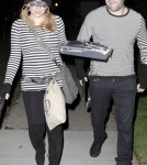 Hilary Duff & Mike Comrie Dress Up As Bank Robbers