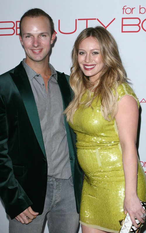 Hilary Duff & Mike Comrie Attend The Beauty Book for Brain Cancer Launch