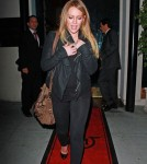 Hilary Duff At Mastro's steakhouse in Beverly Hills, California - November 29, 2011