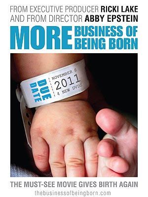Ricki Lake Releases More Business of Being Born DVD Series