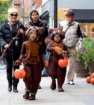 Deborra Lee Furness Takes Ava and Oscar Trick-Or-Treating
