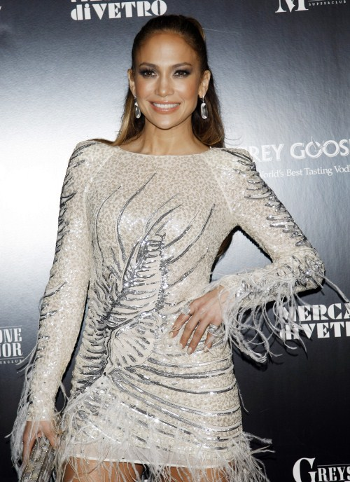 Jennifer Lopez attends Jennifer Lopez's Fiat event at Greystone Mannor in Los Angeles, CA on November 20, 2011.