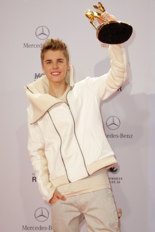 Justin Bieber - 2011 BAMBI awards at the Rhein-Main-Hallen in Wiesbaden, Germany on November 10, 2011. Pictured: Justin Bieber