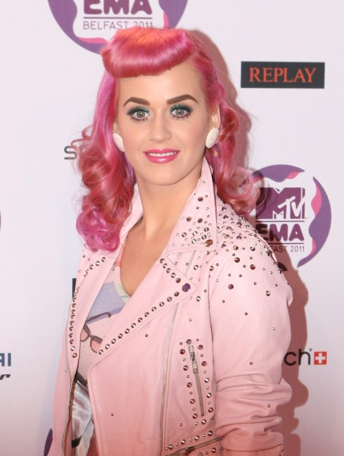 Katy Perry at The MTV Europe Music Awards took place in Belfast, Ireland on November 6, 2011.