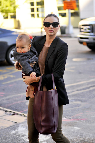 Miranda Kerr With Her Adorable Pink Cheeked Baby