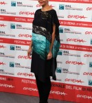 """Maggie Gyllenhaal attends the photo call for the film """"Hysteria"""" at the 6th Annual Rome Film Festival in Rome, Italy on October 28th, 2011."""