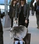Miranda Kerr in Manhattan with her son Flynn (November 12).