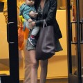 Miranda Kerr out in NYC With Her Adorable Son Flynn (November 10).