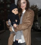 Miranda Kerr and Flynn in New York City on Tuesday (November 22).