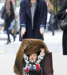 Miranda Kerr and Son Out in NYC november 13, 2011