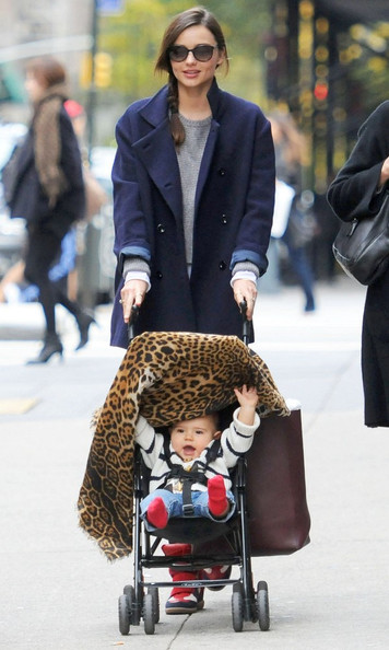 Miranda Kerr and Son Out in NYC november 13, 2011