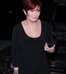 Sharon Osbourne arrived at Madeo restaurant in West Hollywood, California on July 12, 2011 for a dinner date