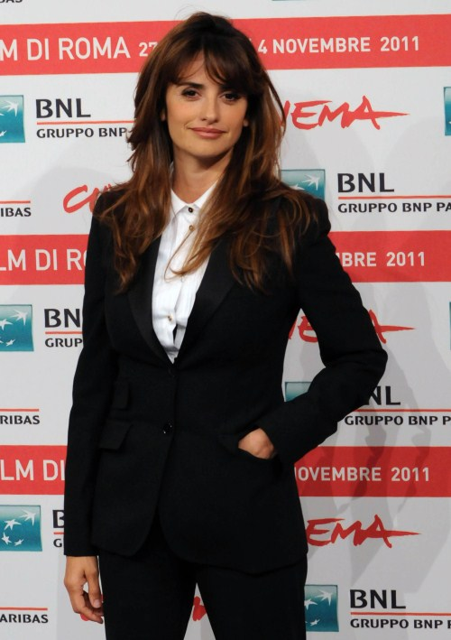 "Penelope Cruz at a photocall for ""Venuto al mondo"" took place during the 6th International Rome Film Festival at the Auditorium Parco Della Musica in Rome, Italy on October 26, 2011."