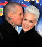 "Pink and husband Carey Hart take their baby girl Willow Sage to the ""Happy Feet Two"" Premiere at the Grauman's Chinese Theater"