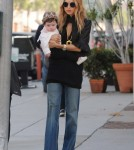 Rachel Zoe was spotted taking a stroll with her adorable little son Skyler Berman through Beverly Hills, California on November 16, 2011.