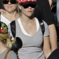 Reese Witherspoon at Disneyland in Anaheim with her family on Saturday (November 26).