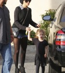 Nicole Richie took daughter Harlow Madden to ballet class in Los Angeles, CA on November 9th, 2011.