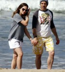 Robert Downey Jr And His Pregnant Wife Susan Out For A Walk On The Beach In Kauai, Hawaii
