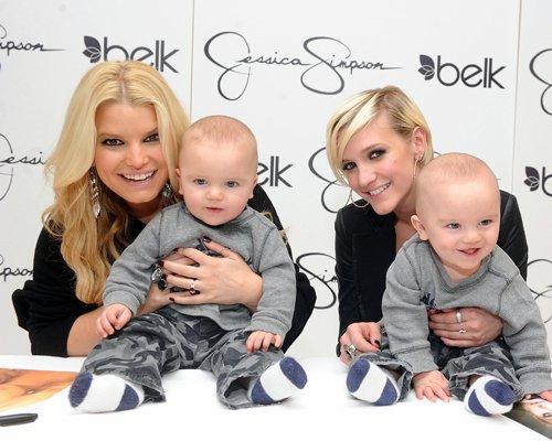 Jessica & Ashlee Simpson Launch Jessica Simpson Girls