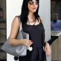New Mom Actress Selma Blair stops off for lunch with a friend in Los Angeles, CA on October 17, 2011