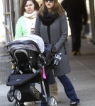 Jessica Alba Grabs Coffee in NYC With Haven