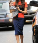 Victoria Beckham and daughter Harper Seven in New York City (November 15).