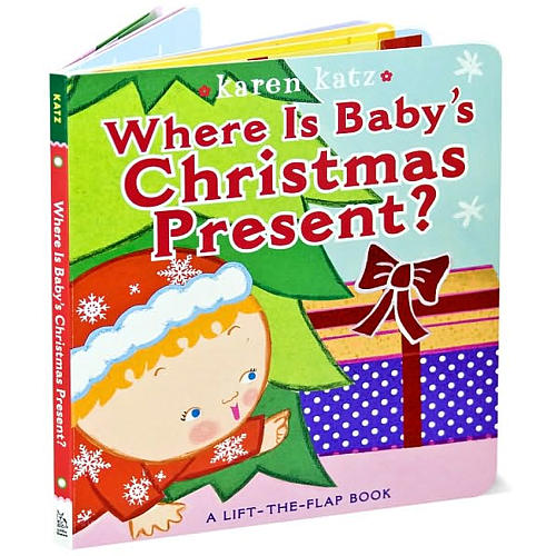 Where Is Baby's Christmas Present Karen Katz Book Review