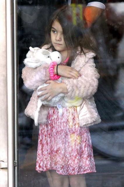 Tom Cruise Says Daughter Suri Cruise Was Born A Fashionista!
