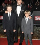 David Beckham takes sons Brooklyn and Romeo to the Military Awards