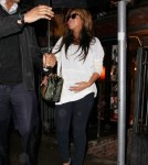 Pregnant Beyonce Steps Out In NYC And Gets Her Nails Did!
