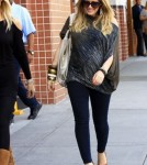 A Very Pregnant Hilary Duff Goes Shopping
