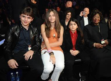 Michael Jackson's Children Attended The X Factor Top 7 Performance (Photo)