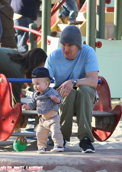 Owen Wilson Plays The Doting Dad
