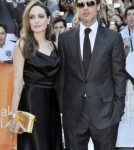 """Brad Pitt and Angelina Jolie attend the premier of the new movie """"Money Ball"""" at the Toronto Film Festival 09-09-2011"""