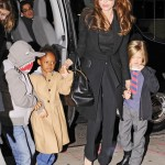 'I Don't Lecture My Children' Says Angelina Jolie