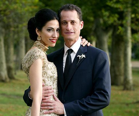 Anthony Weiner & Huma Abedin Welcome Jordan Zane