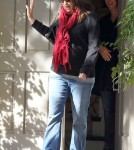 Ben Affleck and Jennifer Garner out visiting a friend's house (December 29)