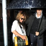 Beyonce out at Sakura Nails in NYC (December 7)