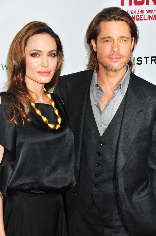 Angelina Jolie and Brad Pitt On Debut Night Of 'In the Land of Blood and Honey'