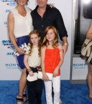 Brooke Shields attends the premiere of the Smurfs in NYC, NY on July 24, 2011.