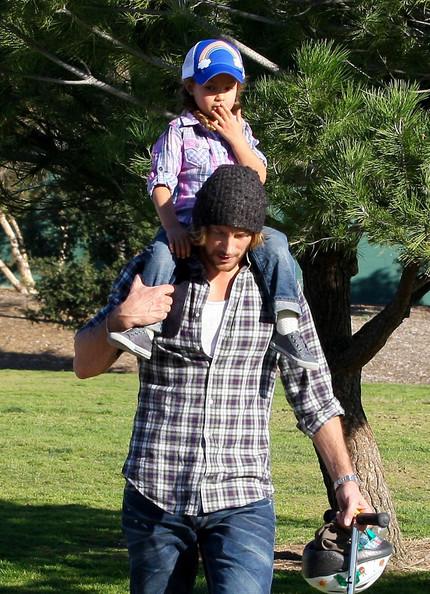Gabriel Aubrey with daughter Nahla