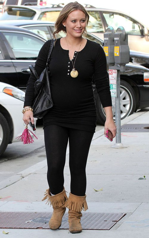 Hilary Duff Stocks Up On New Furniture Before Giving Birth